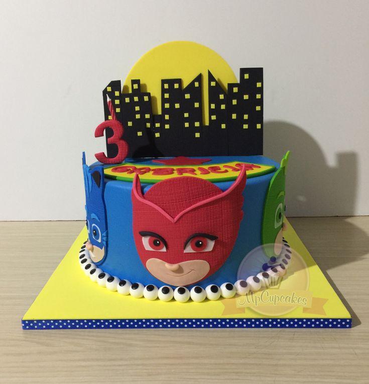 Tortas. Heroes en Pijama. Torta Pj Mask
