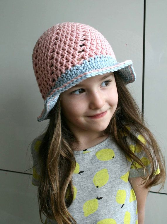 Crochet pattern, Crochet hat pattern spring summer sun hat pattern crochet summer hat pattern floppy summer hat sizes baby to adult 211  The first of