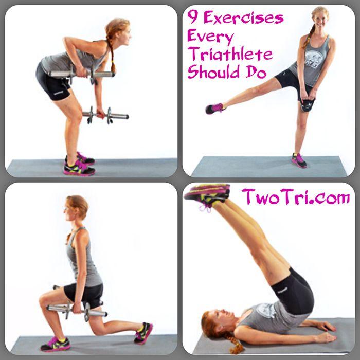 Nine Exercises Every Triathlete Should Do | TwoTri.com #traitlon #triathlon #training