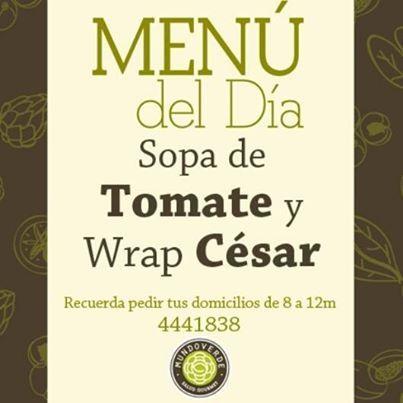 Come delicioso y #Saludable. Ven a #MundoVerde y disfruta de cuidarte. #MenuDelDia #CityPlaza #ElTesoro #ViaPrimavera