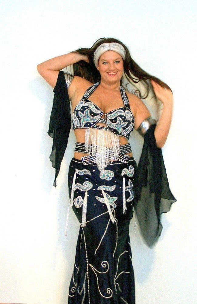 12 Point Petal Skirt for Belly Dance or Renaisscance Faire