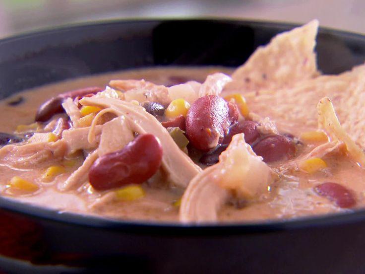 Trisha's Chicken Tortilla Soup Recipe : Trisha Yearwood : Food Network - FoodNetwork.com
