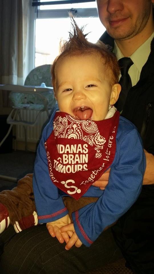 Corey - Being cheeky wearing his bandana