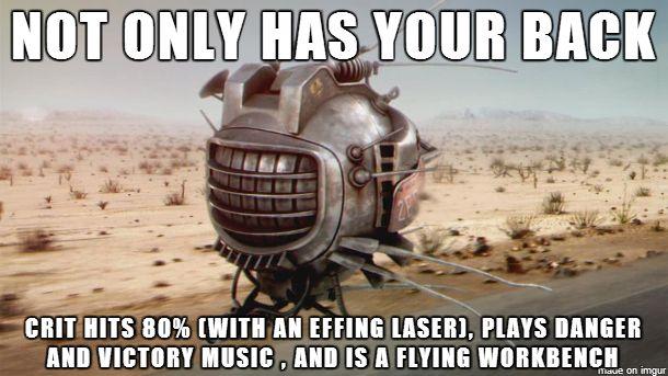 ED-E - Best Companion #Fallout via reddit user TheMegaBenson