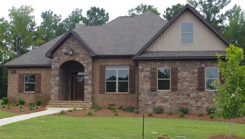 Stone and brick combination the oliver home pinterest for Brick and stone combinations