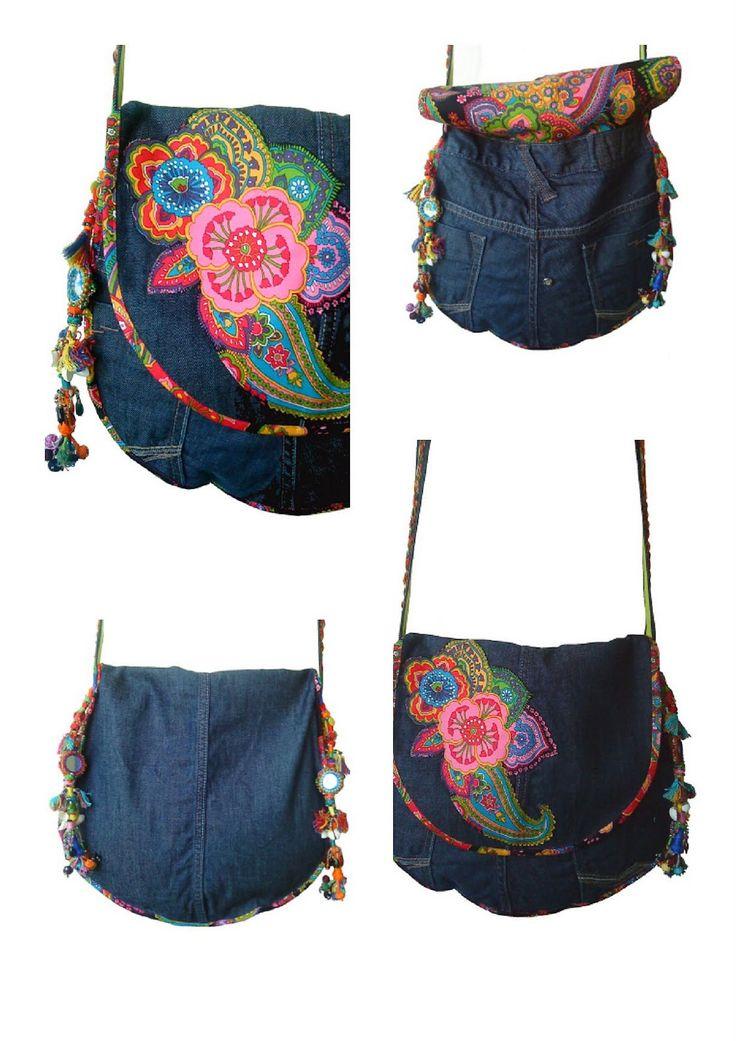 Yeiho Fashion Ethnic: Sac besace version Hippie!