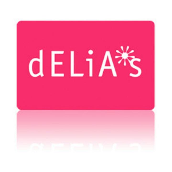 Delias gift card