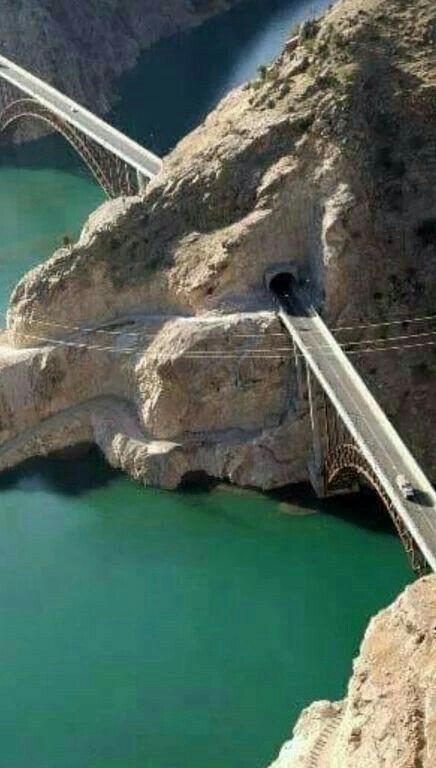 Pakistan-China Friendship Tunnels in Gilgit-Baltistan. Мост Хузестан Иран