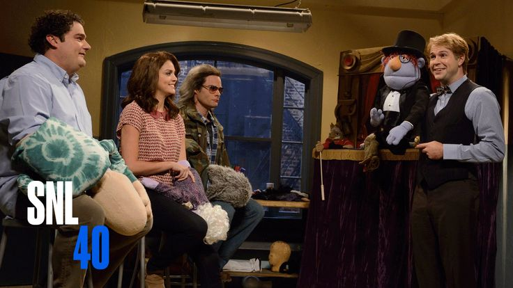War vet Anthony Peter Coleman (Bill Hader) has a hard time keeping things light while performing with his puppet, Tony. Get more SNL on Hulu Plus: http://www...