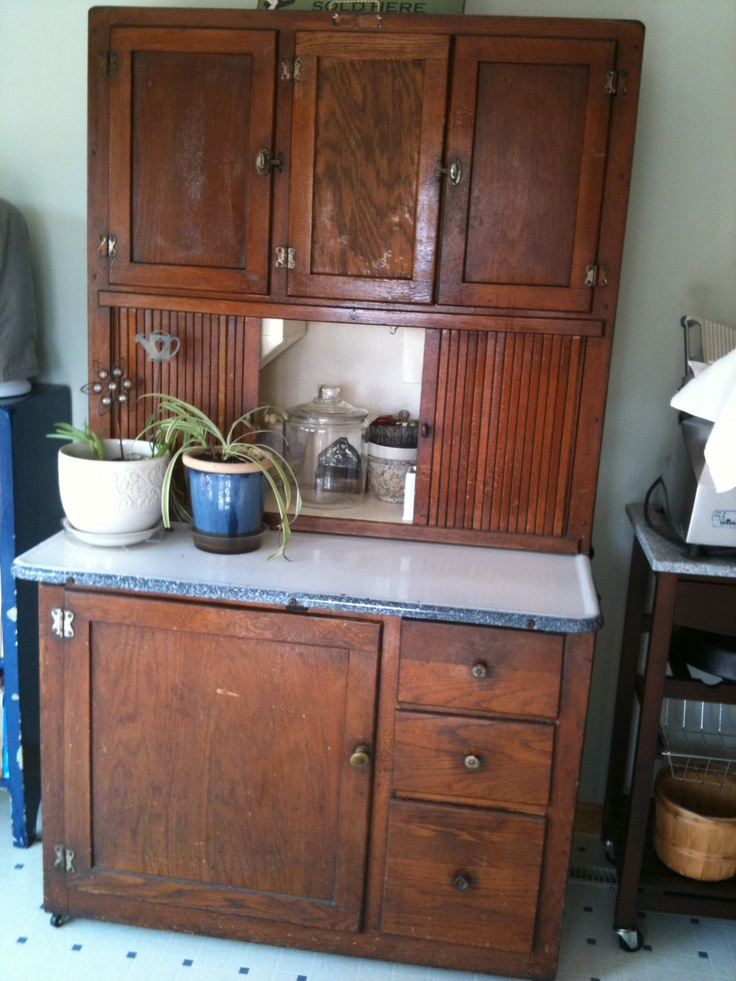 Original Hoosier Cabinet With Name Plate Hoosier Cabinets Pinterest Cabinets Hoosier