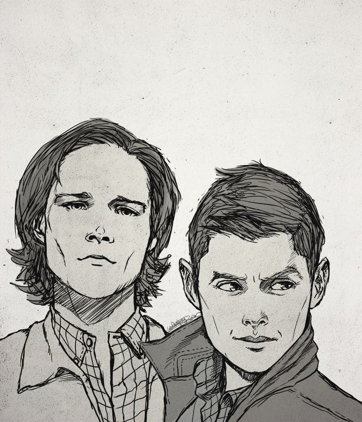 "Keeper & Reaper - ""I hate that I can't watch SPN tonight cause I live in Spain. Fanart helps :)"""