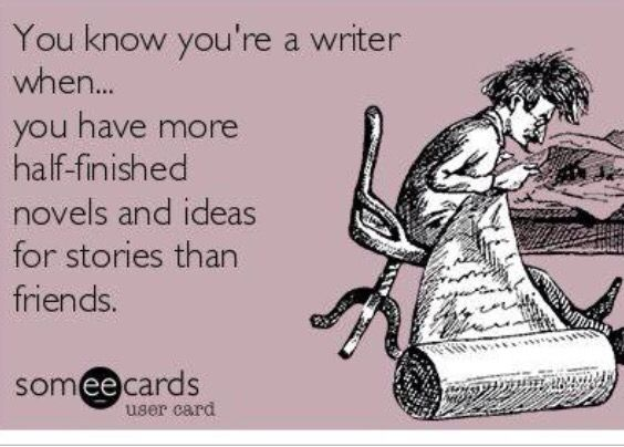 You know you're a writer when... #writinghumor http://writersrelief.com/
