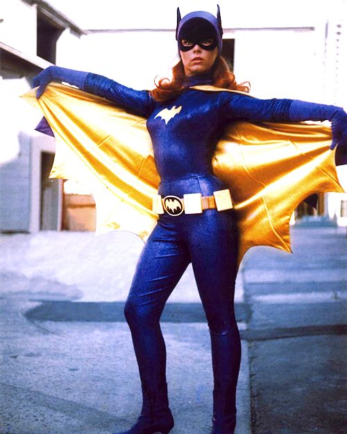 vintagegal:  Yvonne Craig as Batgirl, on the Batman TV show c....