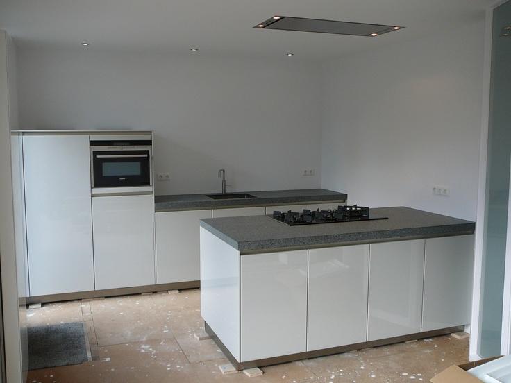 Meer dan 1000 idee n over granieten keuken op pinterest graniet granieten aanrecht en werkbladen - Granieten werkblad keuken ...