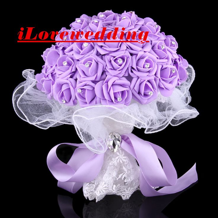 Cheap 4 Colors Wedding Bourquets 2016 Buque De Noiva Blow Molding Paper Rose Bridal Flowers Accessories Gown Free Shipping