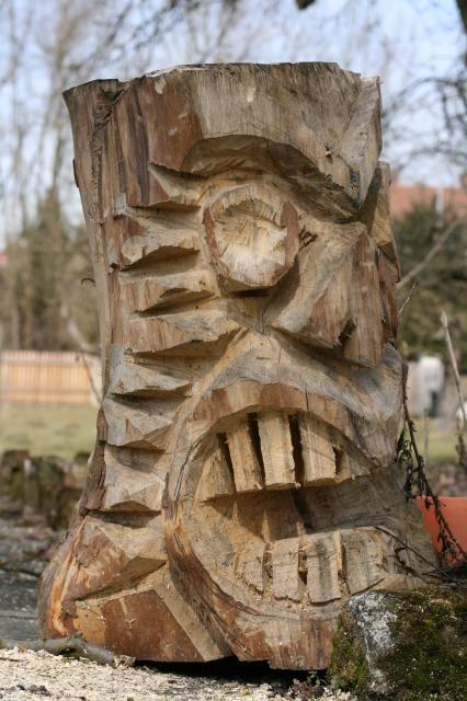 Best images about stump sculptures on pinterest