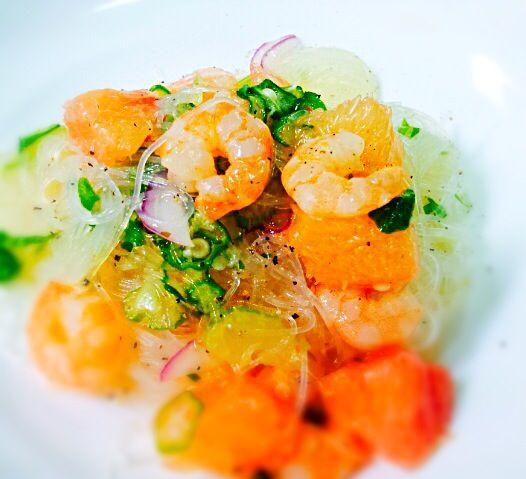 春雨のサラダ。えびや香草、ナンプラーなど使います。 - 16件のもぐもぐ - 春雨サラダ by Yumi Orihara