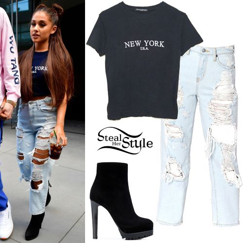 661e4b8729bb Ariana Grande's Clothes & Outfits | Steal Her Style | Ariana grande ...