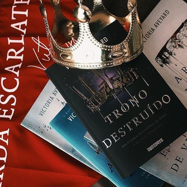 Ordem De Leitura Serie A Rainha Vermelha Da Victoria Aveyard