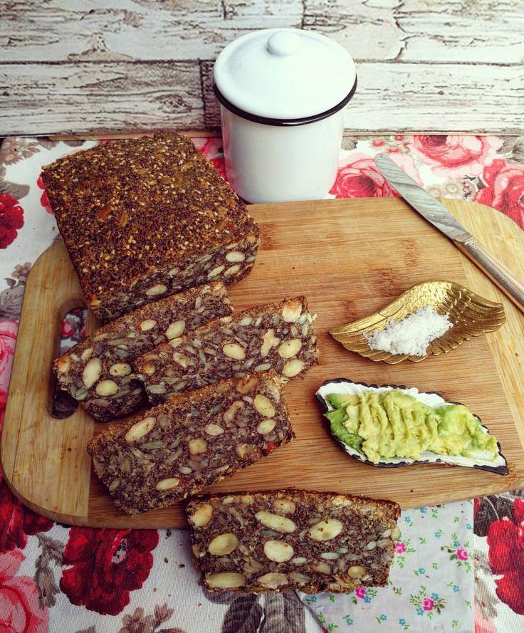 Pan linaza y semillas