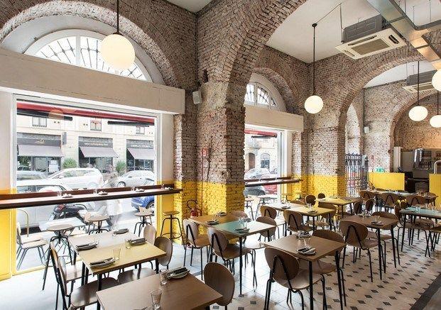 Restaurante En Milan Berbere Diseno De Interiores Cafeteria