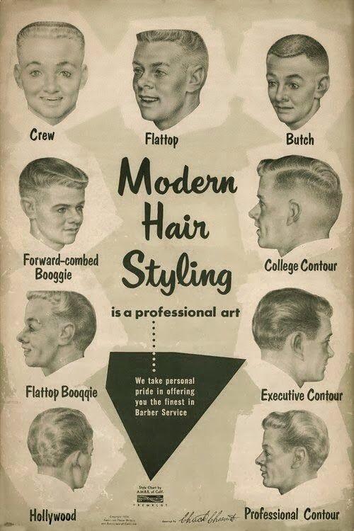old school mens haircuts