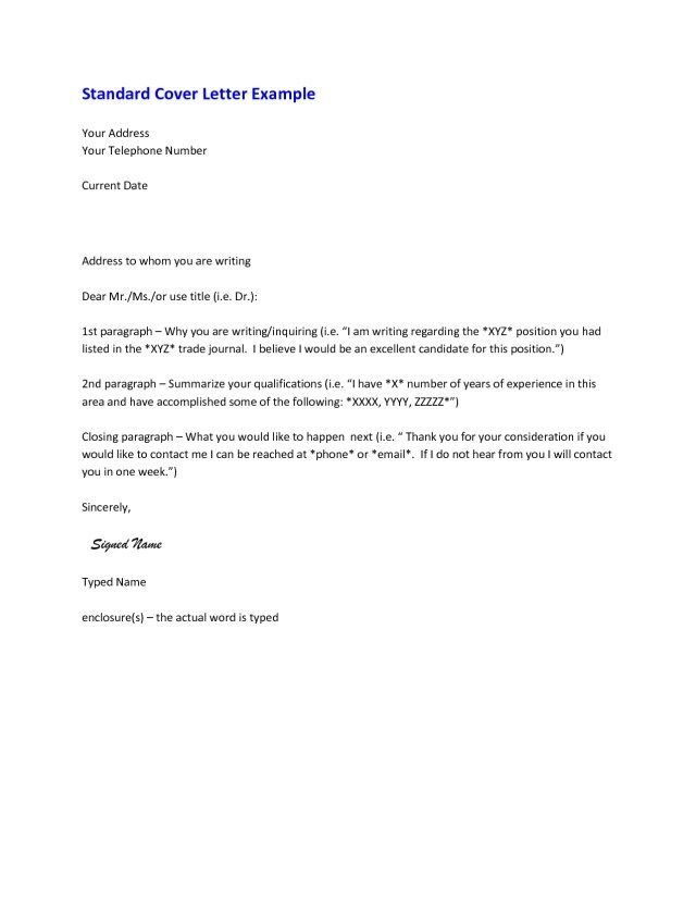 27+ Cover Letter Conclusion Resume Cover Letter Example Cover