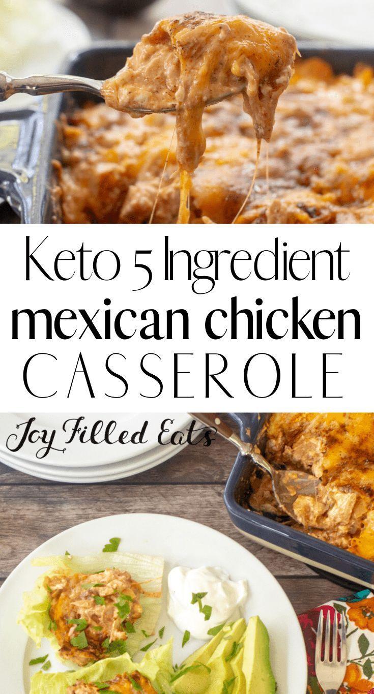 20 Ingredient Mexican Chicken Casserole   Low Carb, Keto, Gluten ...