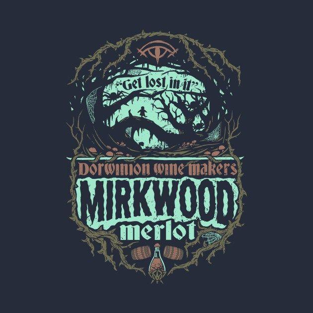 Merlot del Bosque Negro. Diseño de Cory Freeman | El Anillo Único