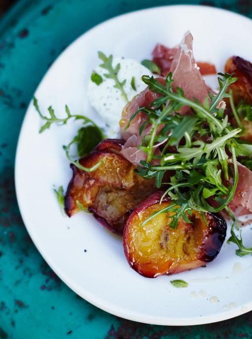 Roast Peach and Parma Ham Salad | Jamie Oliver