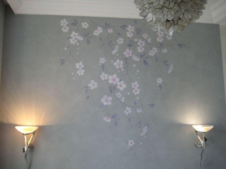 роспись спальни Сакура