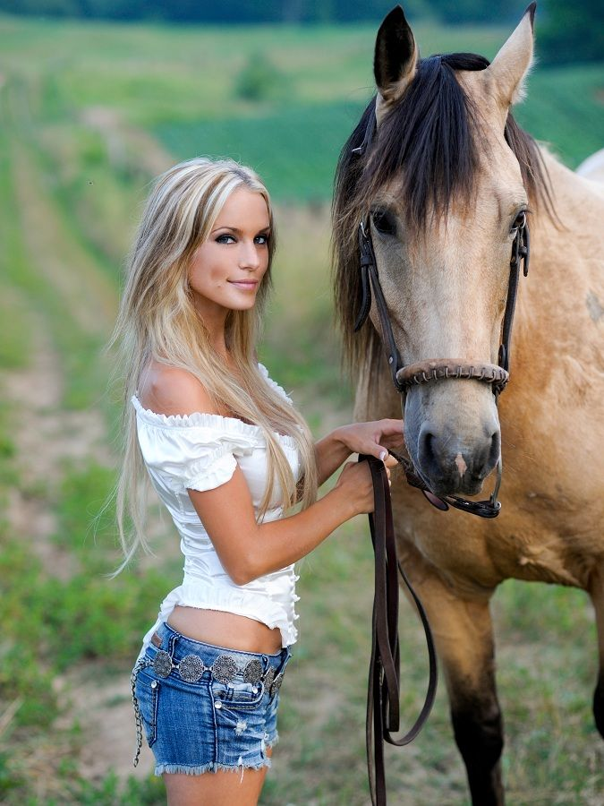 ♥ Cowgirl American Country