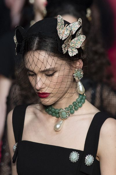 Dolce & Gabbana at Milan Fashion Week Fall 2019