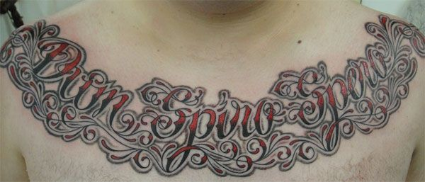 Picture of Tattoo Script Generators Tattoo Script by ~YoItsChase on