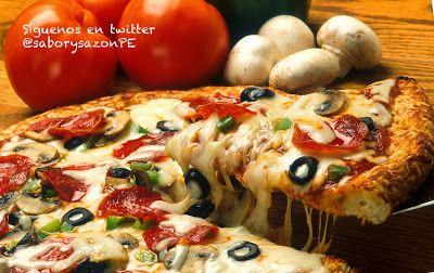 Cómo preparar una pizza - Receta para hacer masa de pizza