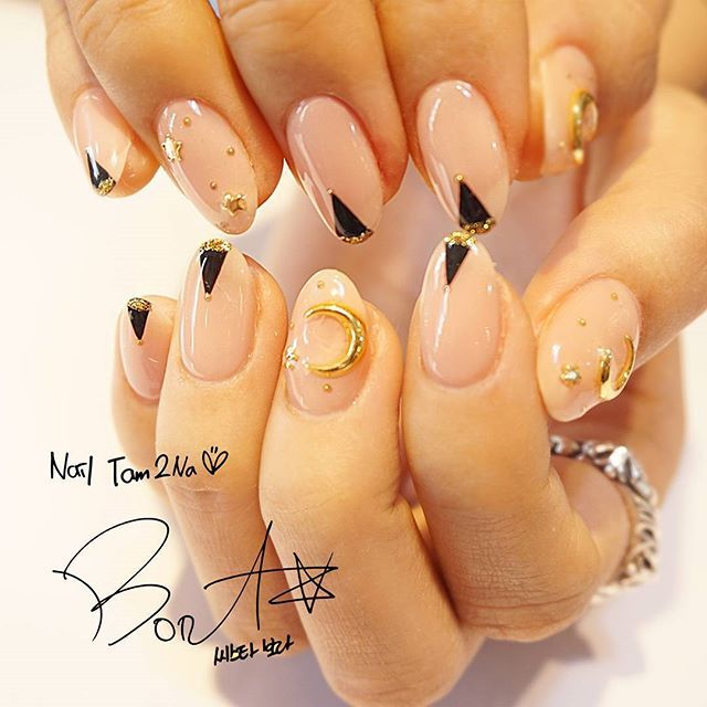 Korean stars' nails. I might add a bit of Jpop here and there.