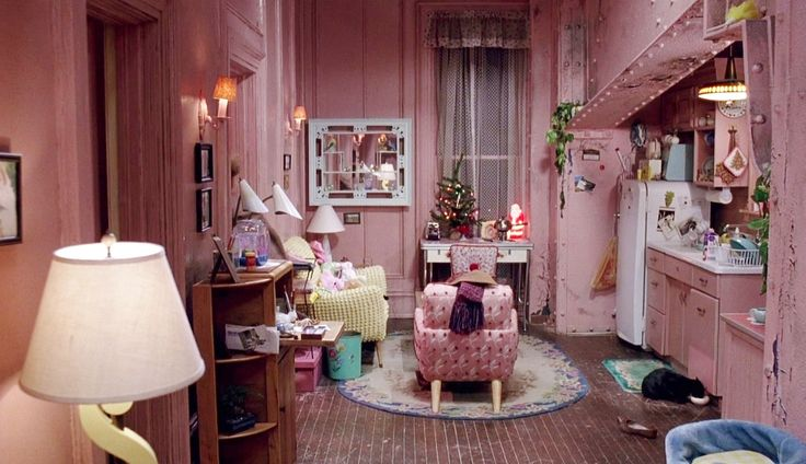 Selena's apartment in 'Batman Returns'