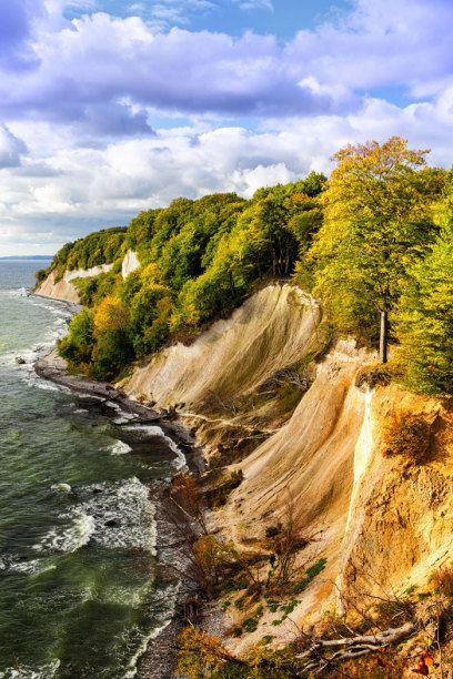 Eine Naturschönheit: die Kreidefelsen auf Rügen