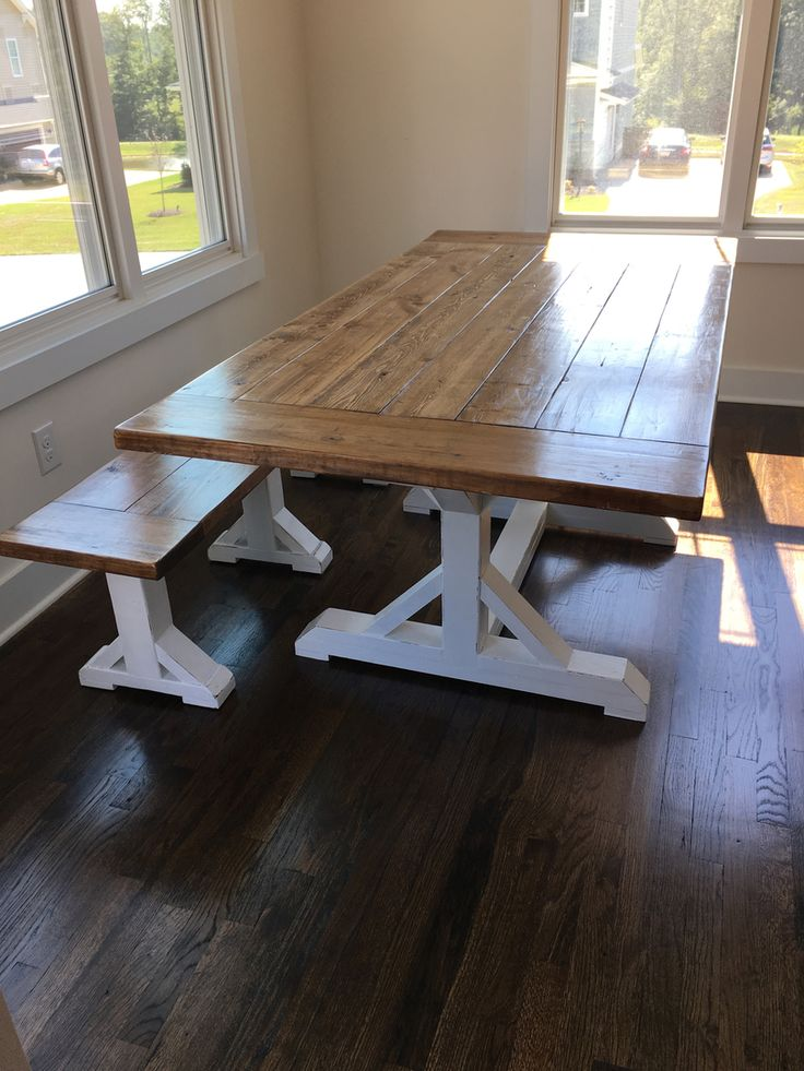 1000 ideas about Rustic Farmhouse Table on Pinterest