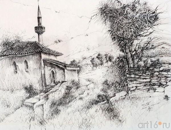 НЕТОВКИН РАМИЗ - Мечеть в селе Танагельды.