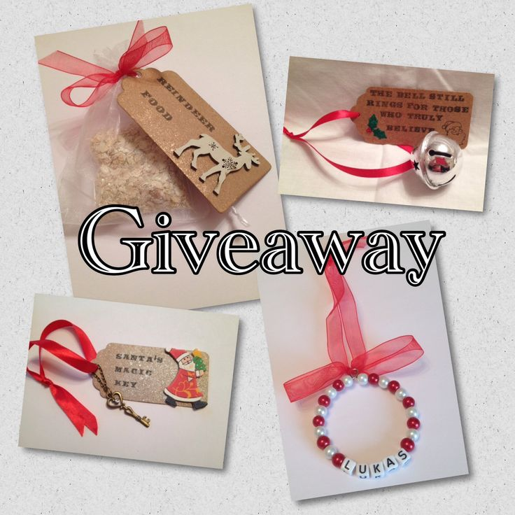 Christmas Giveaway on www.facebook.com/DianaSianCrafts