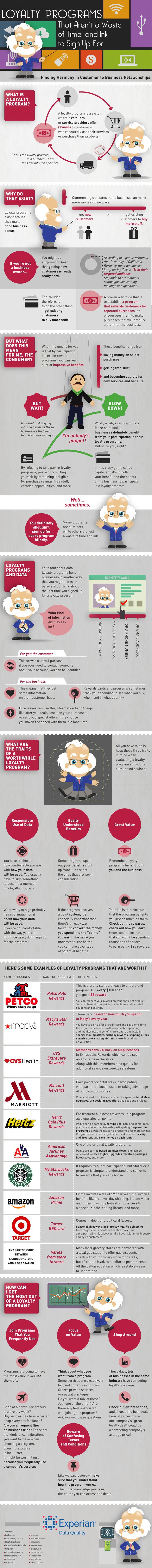 Loyalty Programs That Aren't a Waste of Time and Ink To Sign Up For #infographic #Shopping #Business #Marketing