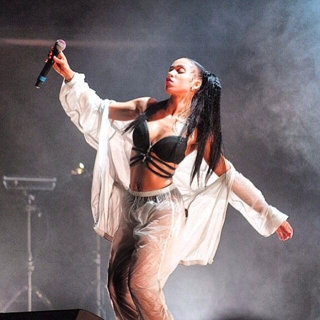 fka twigs...I am so infatuated with her! I love her originality, weirdness, and her beautiful voice.