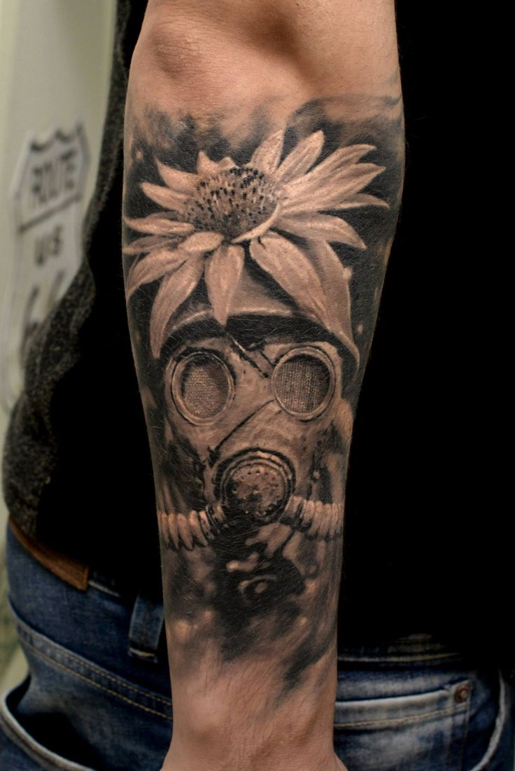 Best of realistic B&G 2nd place Bucharest Tattoo Convention 2015 *healed Www.zaed-tattoo.ro