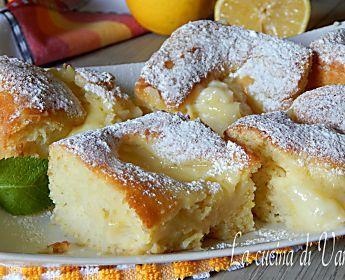 Quadrotti cremosi al limone
