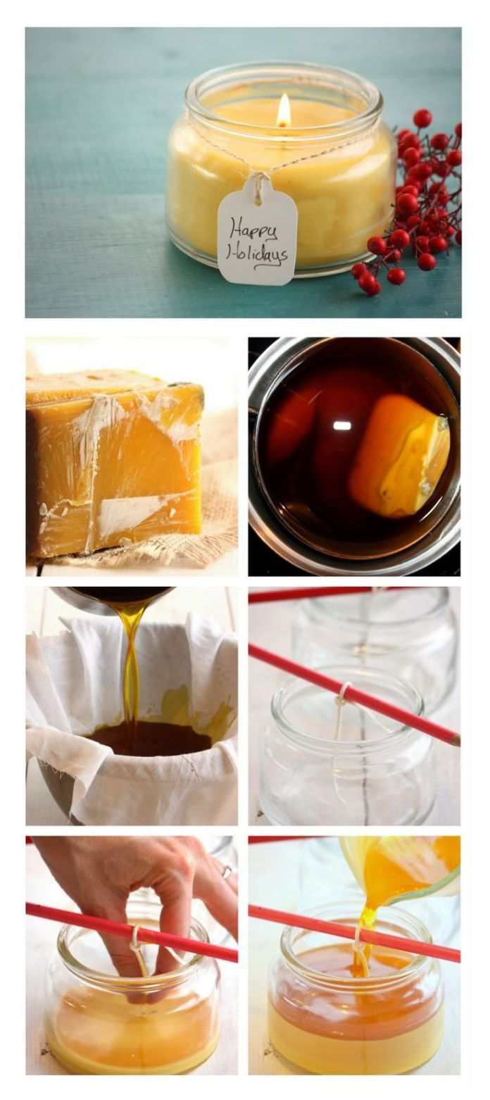 Diy Candles Ideas : Beeswax candles effectively reduce [the symptoms of] asthma allergies and hay #candlemakingtips