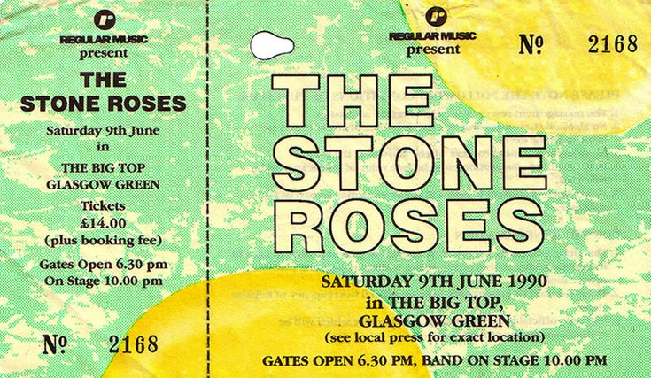 The Stone Roses at Glasgow Green 1990 | The Stone Roses fansite