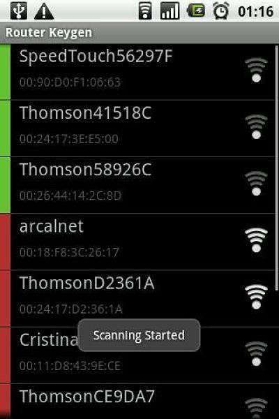 Descifrar claves wifi – Las mejores aplicaciones Android Router Keygen