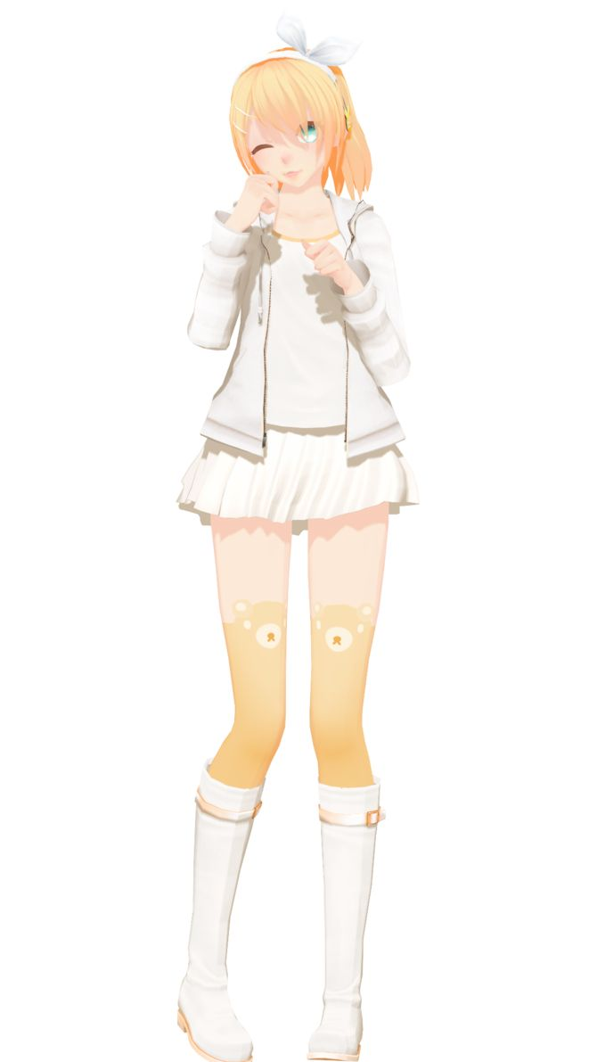 Mmd dress models download by hikariwakamiya on deviantart - 100k Pageviews Model Dl Nuic Rin By Nousernameincluded On Deviantart