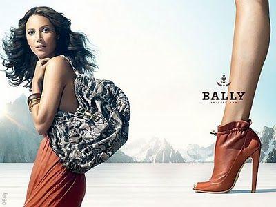 Christy Turlington #Bally #shoes
